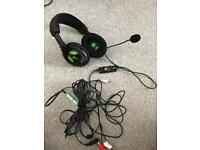 Turtle beach EARFORCE x12 headset for Xbox