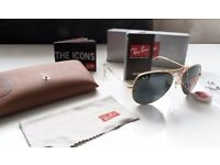 FREE DELIVERY TODAY! RAYBAN GOLD AVIATOR SUNGLASSES ktm yzf ltr