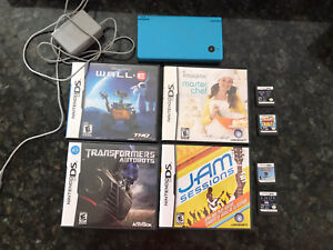 Blue Nintendo dsi in great condition with 12 games