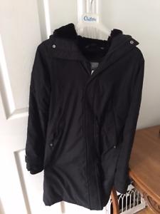 TNA black winter jacket size small