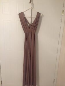 Bridesmaid dress - infinity wrap dress one size fits all