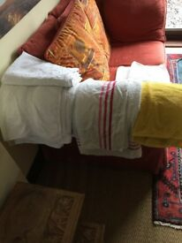 TOWELS - LARGE BUNDLE OF 12 - BATH, HAND, BEACH, BATHMAT