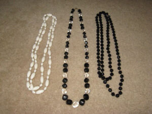 Assorted Necklaces ( 50's to 70's )