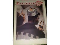 Manipulator magazines from 1987 to 1992