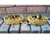 GSXR Tokico radial brake calipers