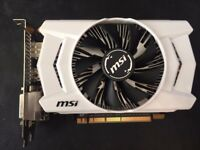 MSI GTX 950 2GB (barely used, £70)