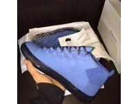 Balenciaga Arena High top Suede Leather Men's Sneakers