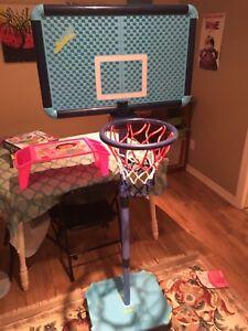 Swingball portable indoor basketball net