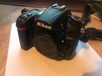 Nikon d7000 dslr camera body plus battery grip and remote shutter