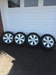 "17"" Alloy Rims from 2011 Subaru Outback Sport"