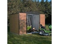 10 x 6 Woodvale Apex Metal Shed. New Flatpack.PICK UP TODAY.