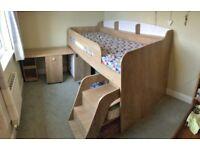 Children's Mid-Sleeper Bed Frame