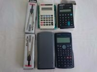 Calculator and Compass