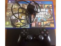 PS4 (Sony Playstation 4) Slim 500gb includes FIFA 17 and GTA 5