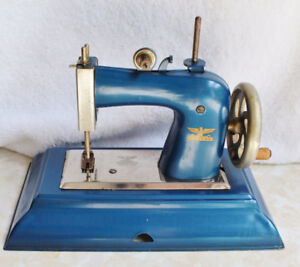 Antique Tin Toy Sewing Machine by Casige British Zone Germany