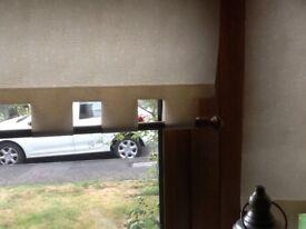 Roller blinds. X 2 matching