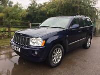 Jeep Grand Cherokee 3.0 CRD V6 Overland Station Wagon 4x4 5dr HPI CLEAR,NAV,DVD PLAYERS