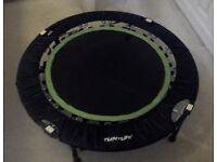 indoor exercise trampoline