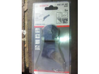 Bosch AIZ20AB BiM Saw Blades 2 608 661 628 Pack of 5,brand new.