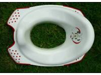 Toilet seat & step