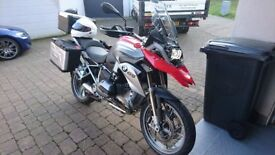 ** BMW R1200GS TE plus full luggage, Nav & 18 months BMW-warranty remaining **