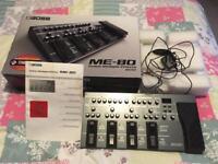 BOSS ME-80 Guitar Effects Board