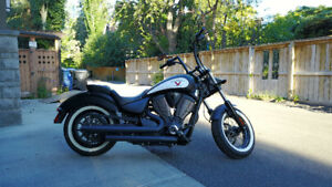 2012 Victory Highball with Performance Exhaust
