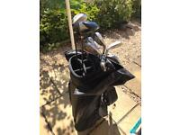 Williams Golf Clubs plus bag