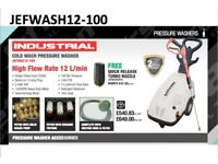 JEFFERSON Industrial Cold Wash Pressure Washer LIFTS FROM BARRELL CAR WASH