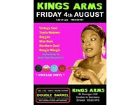 FRIDAY 4th AUGUST - 60s 70s SOUL / REGGAE / MOTOWN with DOUBLE BARREL – EASTON IN GORDANO