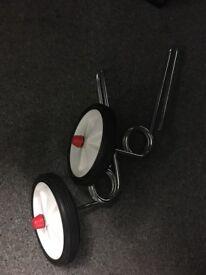 Stabilisers for kids bike (EZ training suspension)