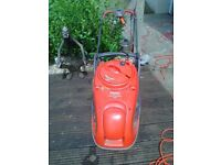 large flymo hover lawnmower