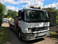 2007 07 Mercedes-Benz Atego 15-23 15 Ton and Dropside with Crane