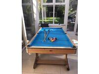 Pool Table - 6' BCE Clifton Folding Pool Table