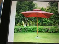Large Sun Parasol Brand New in Box