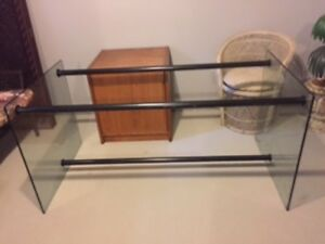 **** Large Glass Desk Base + Other Items ****