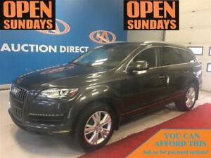 2013 Audi Q7 3.0T PREMIUM! ONLY 33750KM! FINANCE NOW!