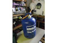 15 KG calor butane gas bottle(full)