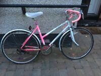Chloe Raleigh petite girls pink ladies bike