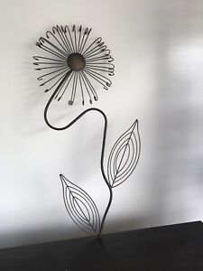 Wall art from model home