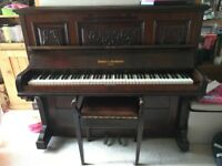 Beringer & Strohmenger London Piano and Stool