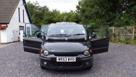 Fiat Multipla 1.6 ELX Black