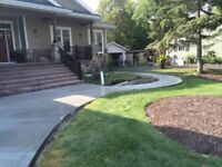 CONCRETE AND INTERLOCK STONE DRIVEWAYS, GARAGE PADS AND MORE!