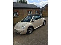 Beetle convertible- Read the spec and judge by yourselves.3100£