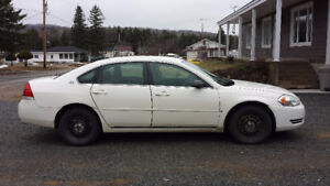 2006 Chevrolet Impala police pack