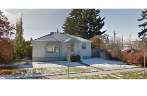 3 bedroom older character home for rent in NW Calgary