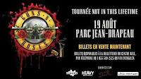 2 TICKETS GUNS N' ROSES - MONTREAL