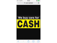 ALL CARS / VANS WANTED ANYTHING CONSIDERED ££££££ CASH PAID £££££££