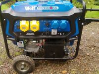 Wolf Professional WPX7500E 7000w. Generator. 15hp