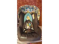 Cosatto Firebird hold car seat 0+ group - from birth to 13kg